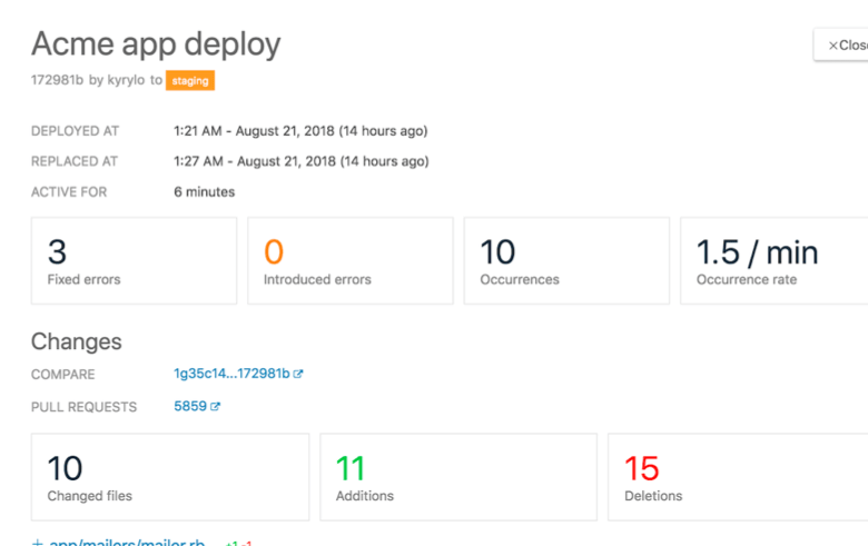 Airbrake's Deploy View